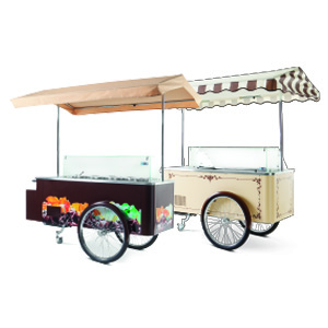 ISA Carrettino pozzetti - Ice Cream Cart