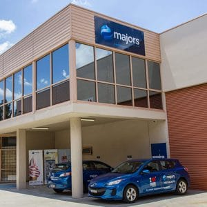 Majors Group NSW showroom