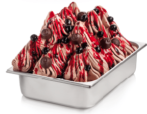 Topping for ice cream -