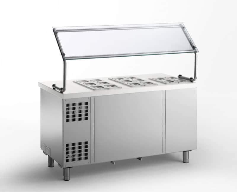 Self Refrigerated Topping Counter - Gemm TYO16