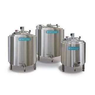 Ageing Vats - Technogel Ice cream factory equipment