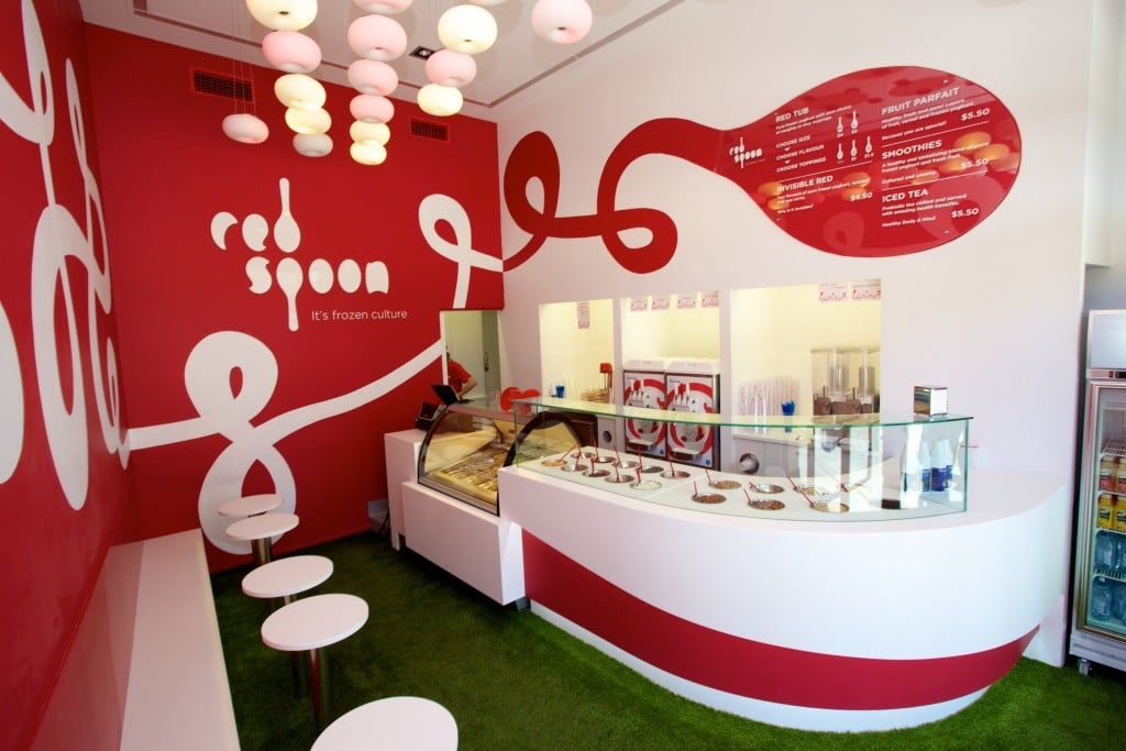 Fit out - Majors Group - Frozen Yoghurt store Fremantle WA 2