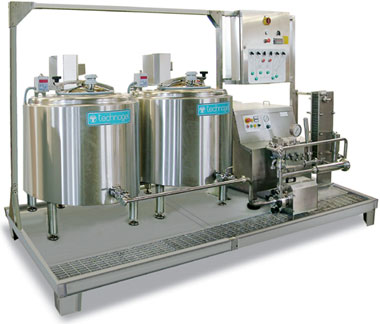 Mix Working - Technogel Ice Cream Factory