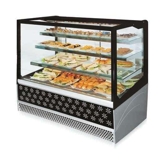 ISA Metrò Pastry Cabinet - Majors Group