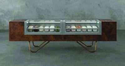 ISA OneShow Gelato ice cream cabinet