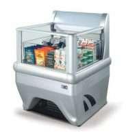 Vertical Display Freezer