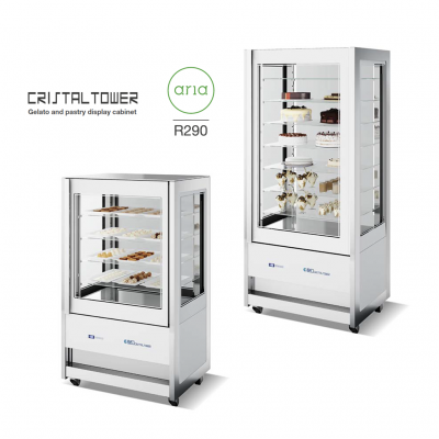 iSA Cristal Tower white