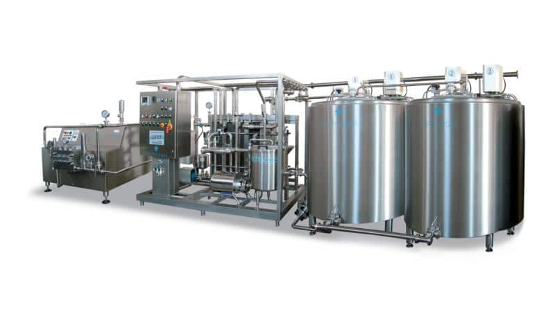 Mixworking Plants Machines For Ice Cream Production