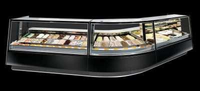 ISA kaleido gelato cabinet pastry cabinet